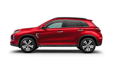 Mitsubishi ASX - Available in Red Diamond